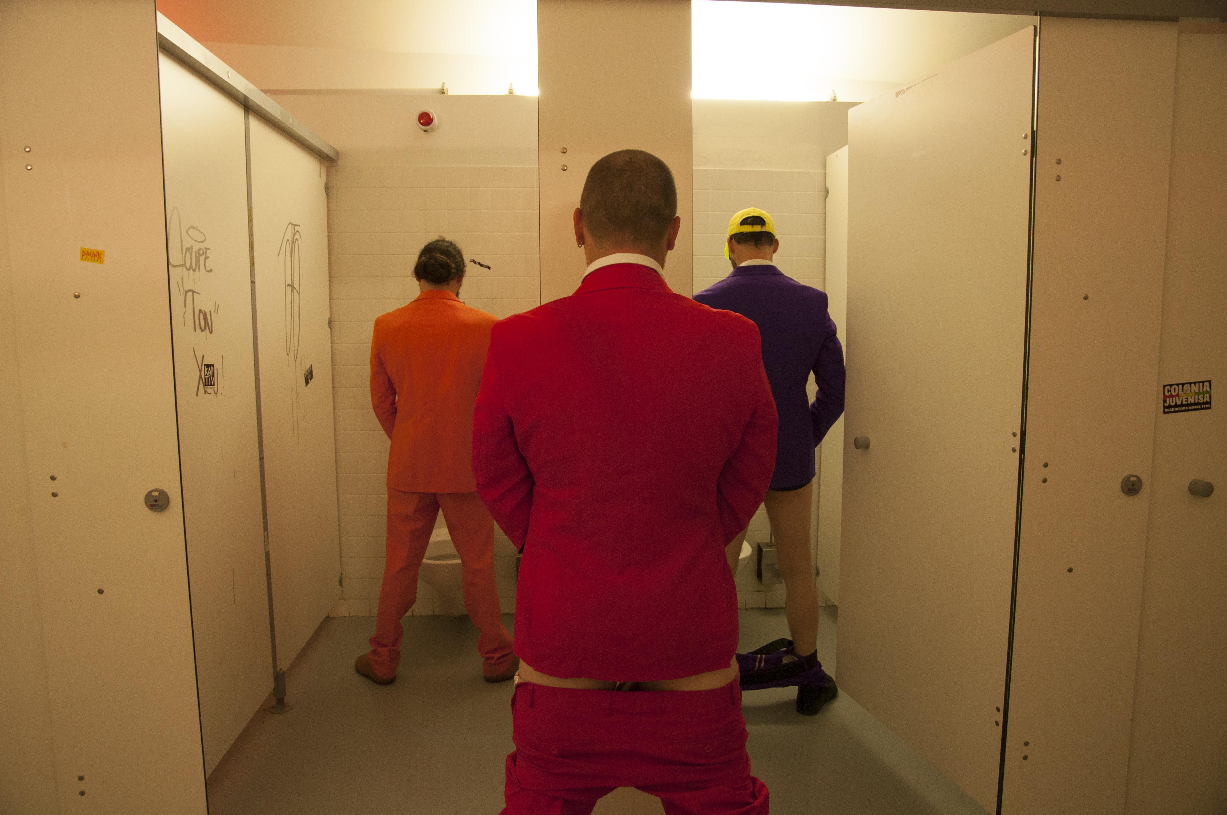 Van fritzmool aux toilettes
